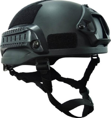 MICH HELMET (III-A)  – With Side Rails and Front Mount