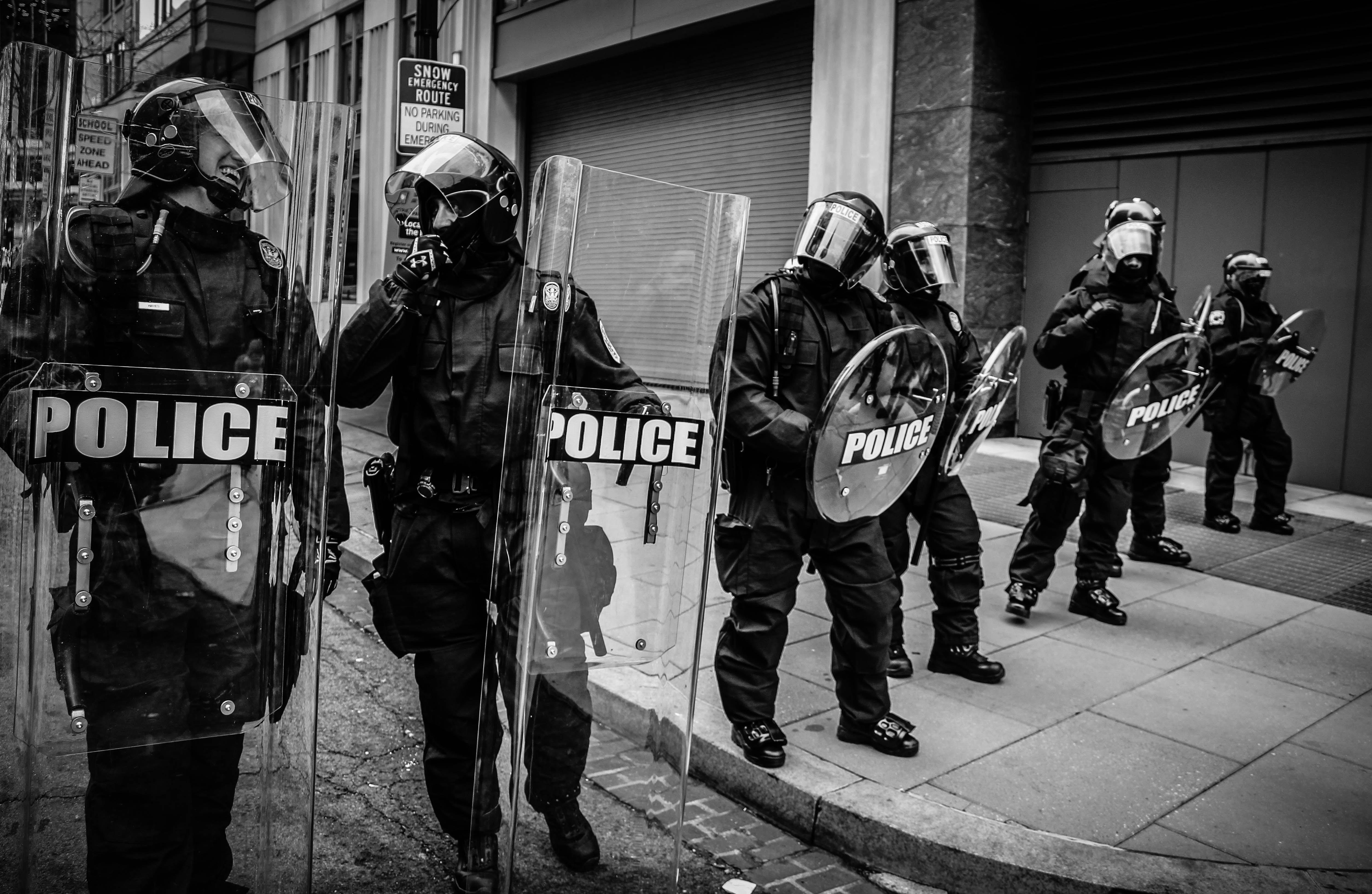 EDI-USA protesting